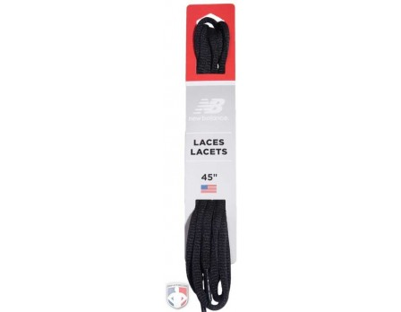New Balance Low Cut Black Oval Shoelaces - Pair