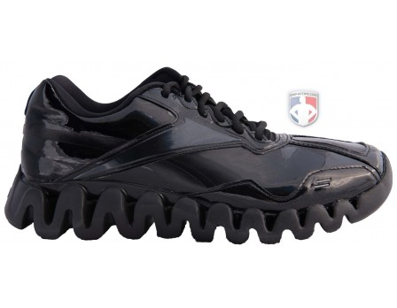 Reebok Zig Magistrate Patent Leather Referee Shoes - RZIG