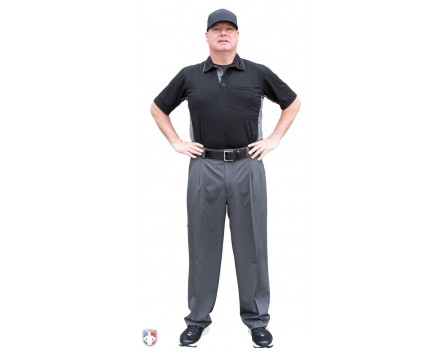Smitty Performance Poly Spandex Charcoal Grey Combo Umpire Pants
