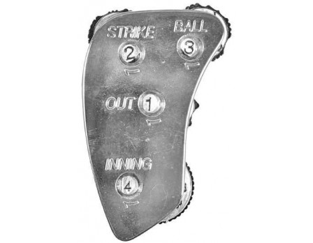 All Star 4-Dial Die Cast Metal Umpire Indicator