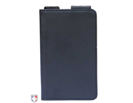 "Pro Grade Magnetic ""Book"" Style 6"" Umpire Lineup Card Holder / Game Card Referee Wallet"