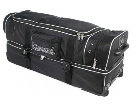"Diamond Ultimate 33"" Umpire Equipment Bag on Wheels with Telescopic Handle"