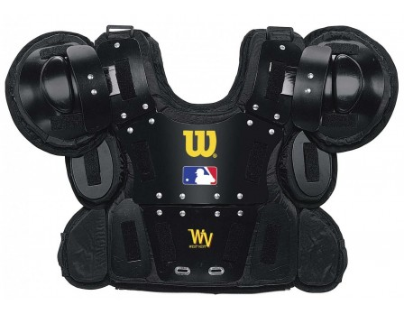A3210 Wilson MLB West Vest Gold Umpire Chest Protector