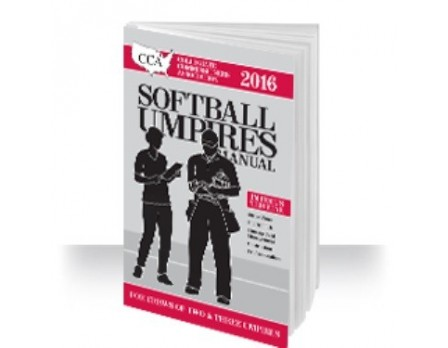 2016 CCA Softball Umpire Manual