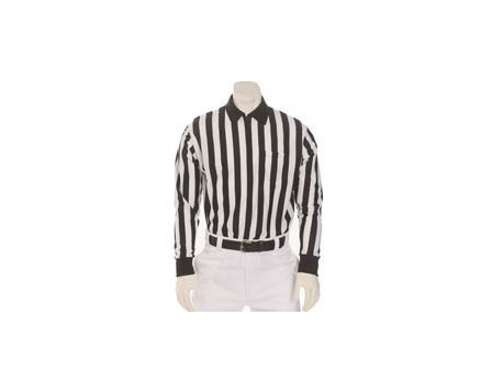 "Smitty ""Elite"" Long Sleeve Referee Shirt with Byron Collar"