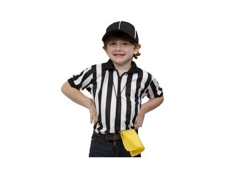 Children's Referee Shirt with Byron Collar