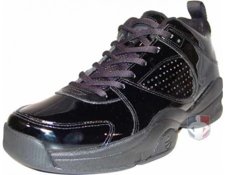 Official Footwear Patent Leather Referee Shoes