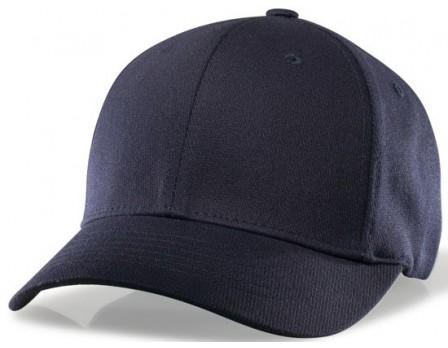 richardson performance flexfit base umpire cap 6 stitch