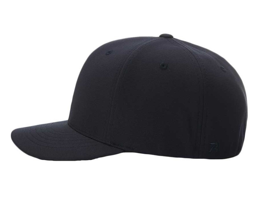 c36ed75cc Richardson Pulse Performance Flexfit Base Umpire Cap - 6 Stitch ...