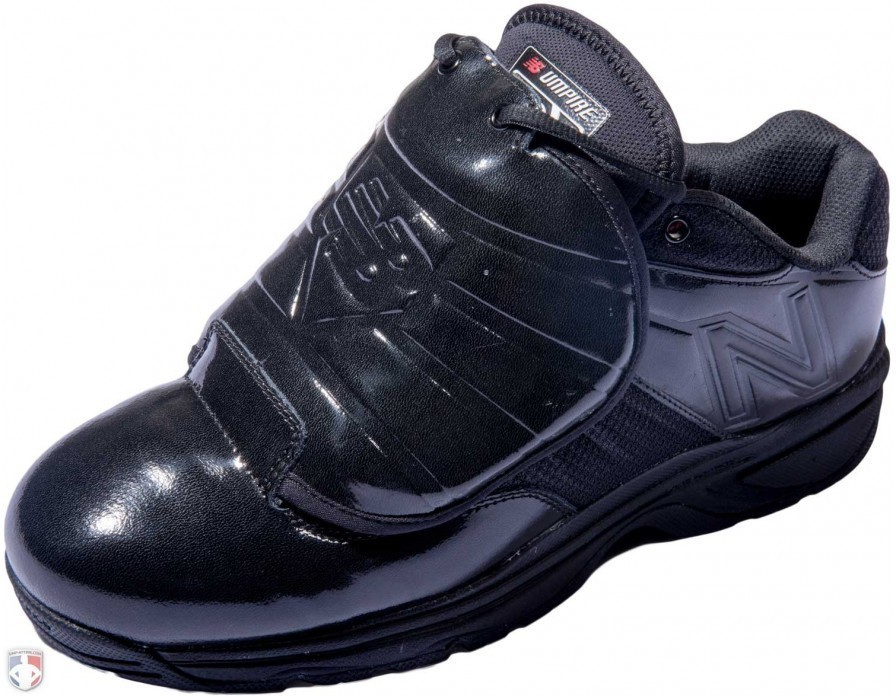 Mul460k3 New Balance V3 Mlb All Black Low Cut Umpire Plate Shoes Angled