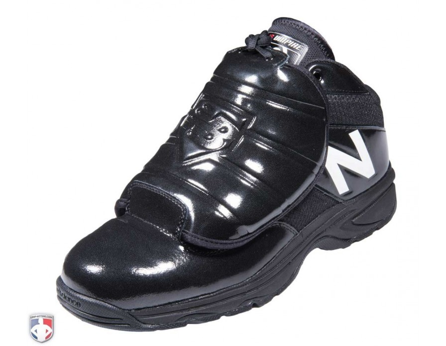 White Mid-Cut Umpire Plate Shoes