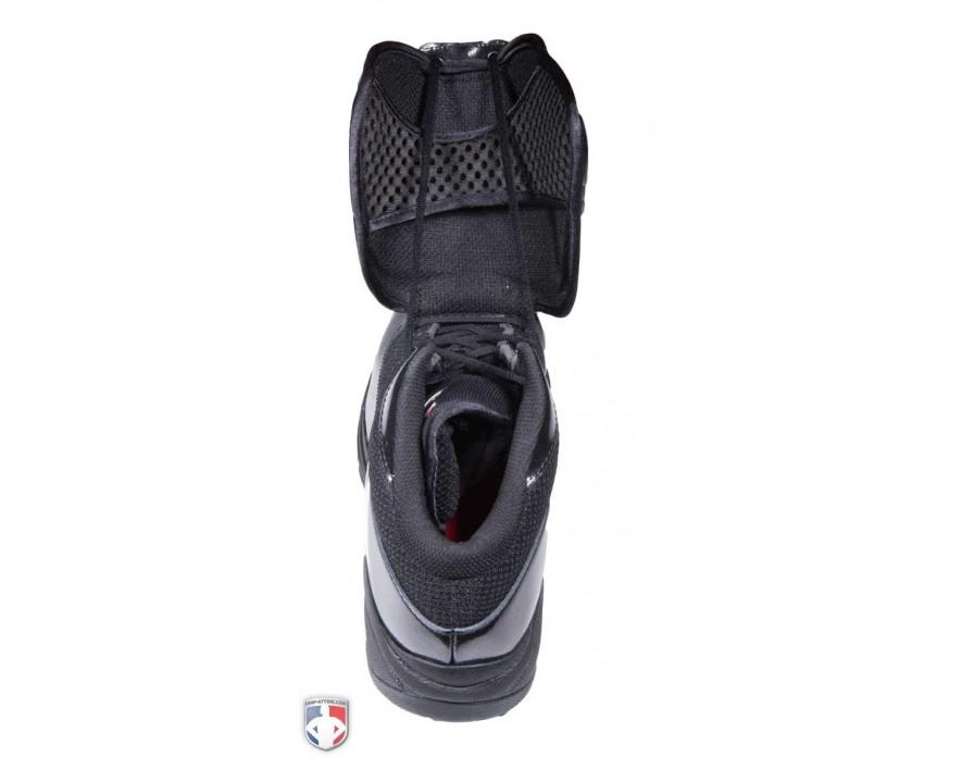 MU460WT3 NEW BALANCE V3 MLB BLACK   WHITE MID-CUT UMPIRE PLATE SHOES  ANGLED.  149.99 1ff6c54a0