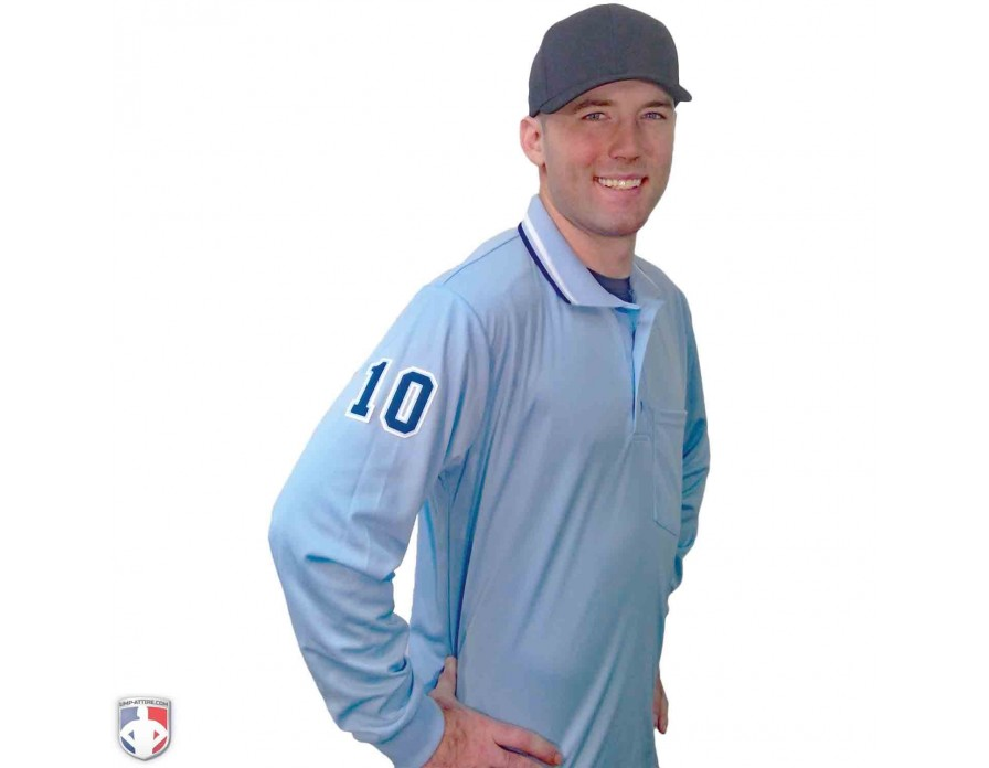 468f3973165b Smitty Long Sleeve Pro Knit Umpire Shirt | Shirts | Ump-Attire.com