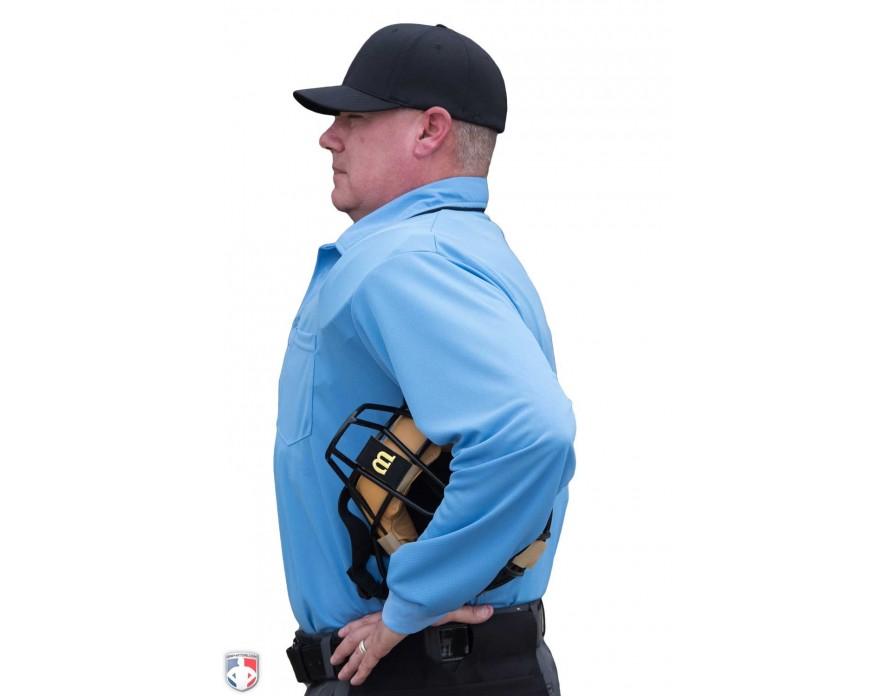 Smitty Major League Replica Long Sleeve Umpire Shirt - Sky Blue with ... 0b0c6f11d685