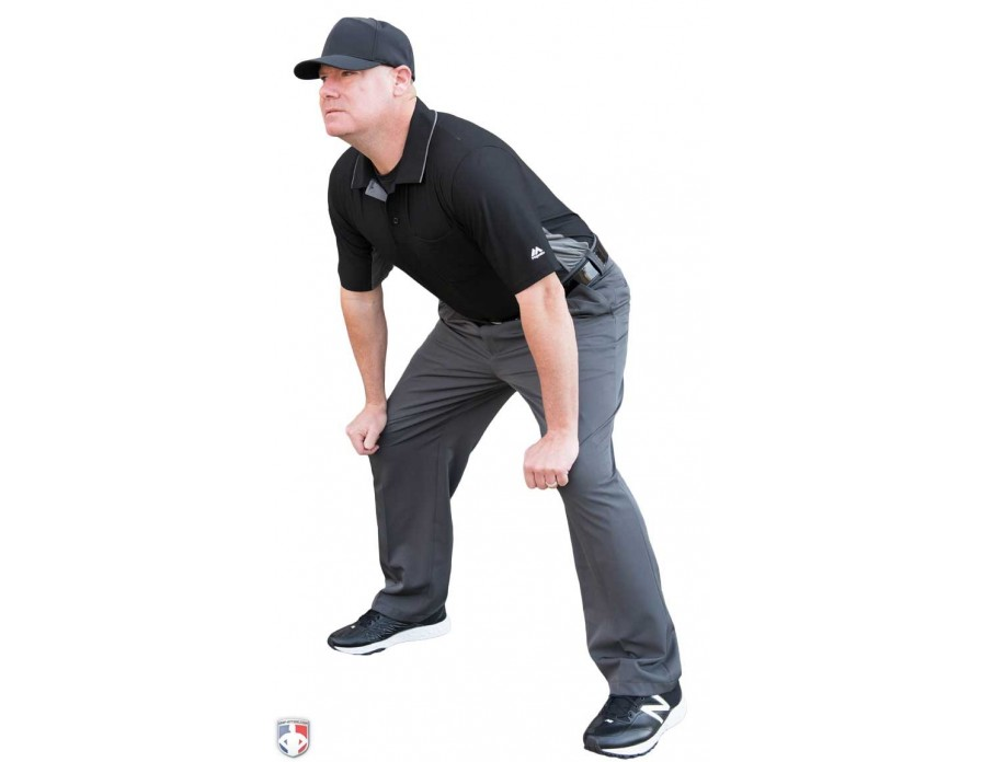 f3170ad354f Smitty Performance Poly Spandex Charcoal Grey Base Umpire Pants ...