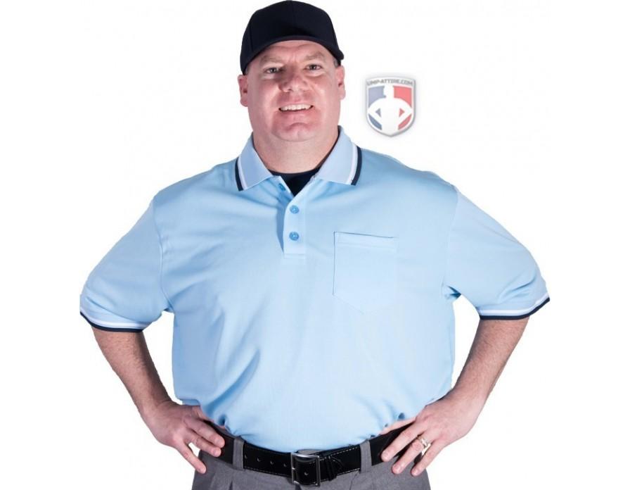 87a602b1b249 Smitty Pro Knit Umpire Shirt - Powder Blue | Packages & Starter Sets ...