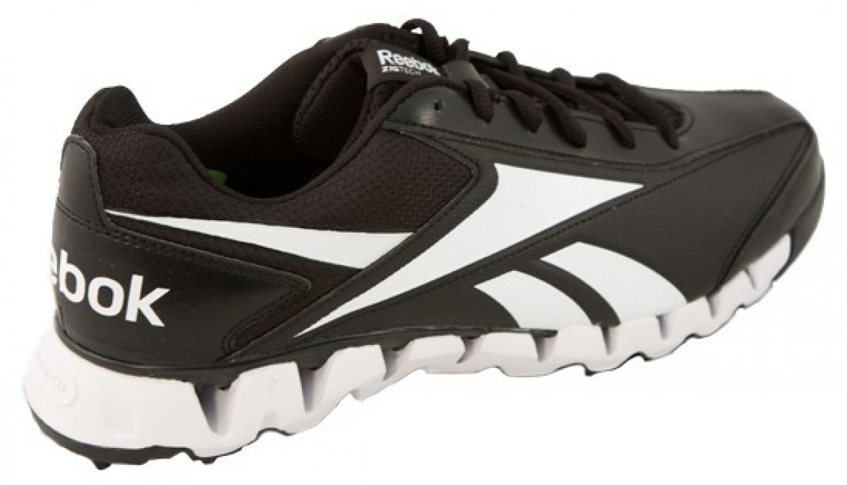low priced a4826 8548c ... Reebok Zig Magistrate Umpire Base Shoes - Black and White ...