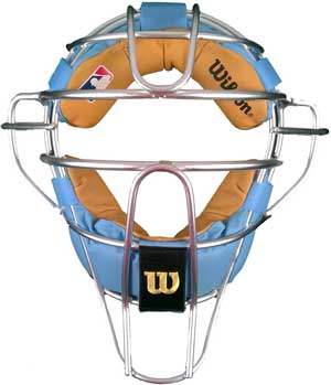 Wilson MLB Silver Dyna-Lite Aluminum with Sky Blue and Tan Memory Foam