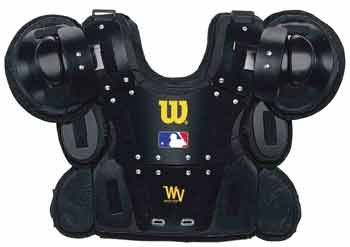 Wilson MLB West Vest Gold Umpire Chest Protector