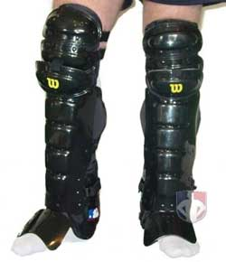Wilson West Vest Professional Umpire Shin Guards