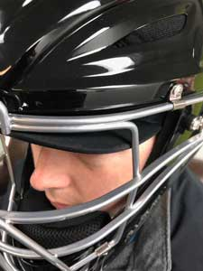 All-Star Umpire Helmet with Cap