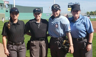 Female Umpire Shirt Pockets