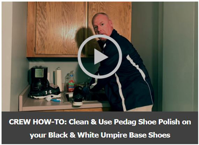 Screenshot of Scott Cleaning Umpire Base Shoes