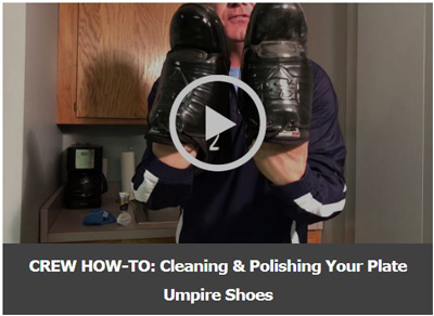 Screenshot of Scott Cleaning Umpire Plate Shoes