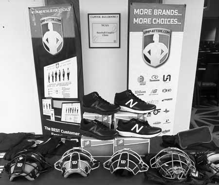Booth at NCAA Clinic