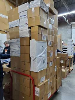 Warehouse Crew Gears Up for Peak Season | Blog | Ump-Attire.com