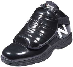 New Balance MLB V3 Black & White Umpire Plate Shoes