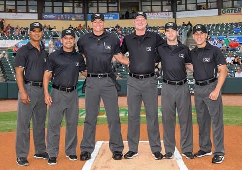 Florida State League All-Star Game Umpire Crew