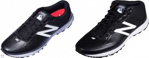 New Balance MLB Black & White Umpire Base Shoes