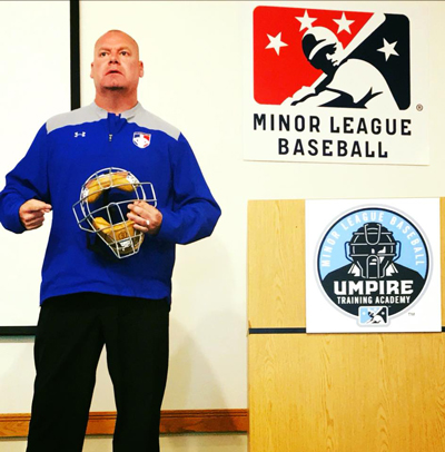 Scott Speaks at MiLB Academy