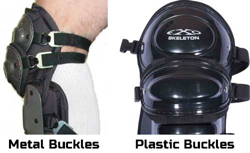 Shin Guard Buckle Styles