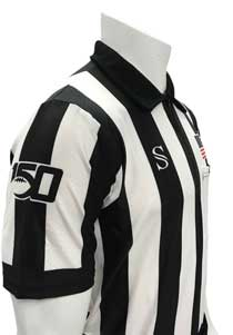 "Smitty CFO College 2"" Body Flex Football Referee Shirt with 150 Year Logo"