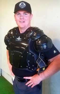 MiLBUTA Student in Umpire Chest Protector