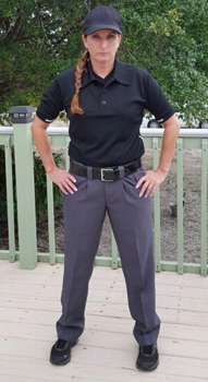 Female Umpire Pants Rise
