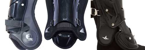 Umpire Shin Guard Ankle Protection