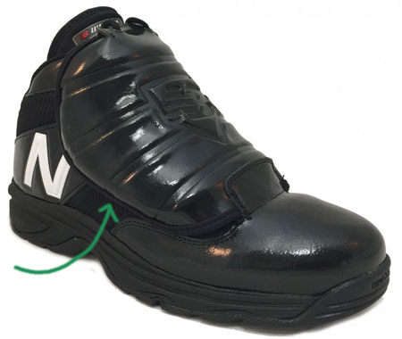 New Balance Plate Shoe Featuring Metartarsal Plate