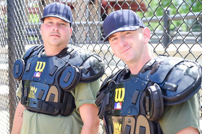 WWUA Students in Umpire Chest Protectors