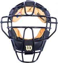 Wilson MLB New View Chrome Moliben Umpire Mask