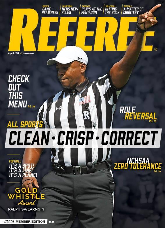 Hero S Pride Footloop Shirt Stay Holder Featured In Referee Magazine