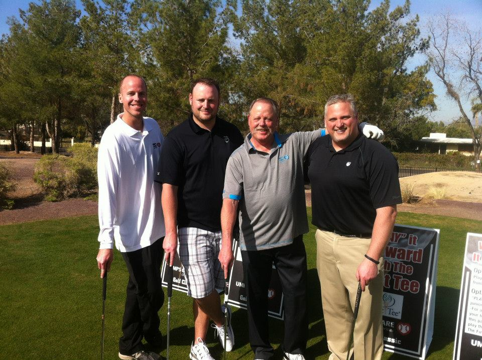 Jim Kirk with Jim Joyce in Group Golf Photo