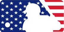 MLB Stars and Stripes Logo