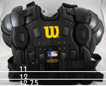 Wilson Gold Umpire Chest Protector size differences