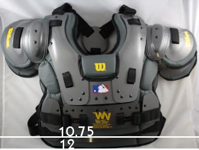Wilson Platinum Umpire Chest Protector size differences